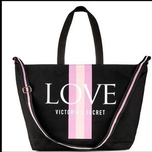 "Victoria Secret's  "" Love "" Weekend Tote"